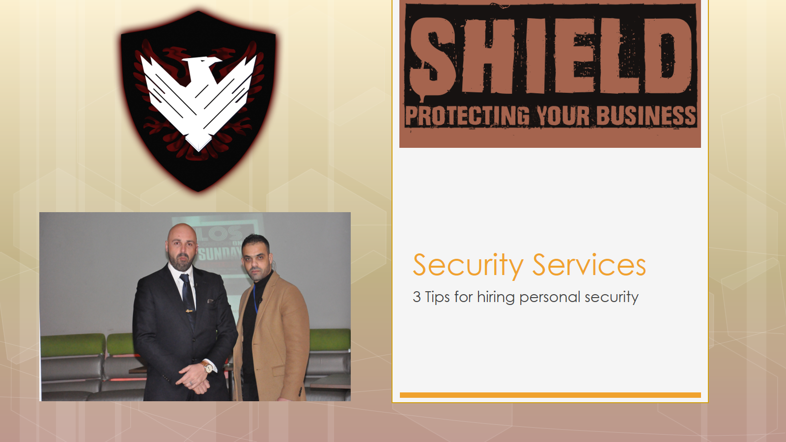 Tips for hiring personal security