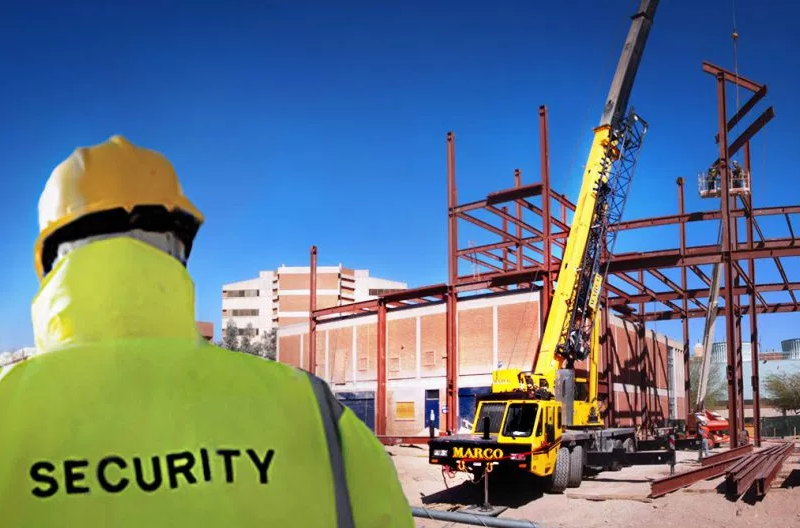 Construction site security. How to protect your assets